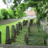 Blick auf den jüdischen Friedhof Aub, Foto: Rebekka Denz