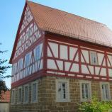 Jüdisches Lehrerhaus Kleinsteinach, Foto: Rebekka Denz