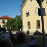 Synagoge Aidhausen, Frontansicht, Foto: Rebekka Denz