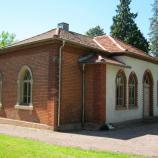 Trauerhalle Aschaffenburg (Altstadtfriedhof), Foto: Rebekka Denz