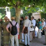 Begrüßung auf dem Wolfsthalplatz, Foto: Rebekka Denz