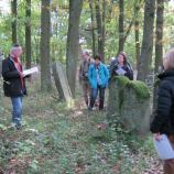 Auf dem jüdischen Friedhof Ebern, Foto: Rebekka Denz