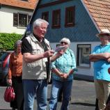 Gästeführer und Reichsschultheiß Leo Jäger in Gochsheim, Foto: Dr. Rotraud Ries