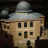 Modell der ehemaligen Synagoge, Foto: Inge Scheffler