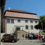 Ehemalige Synagoge und heutige Gemeindebibliothek in Niederwerrn, Foto: Dr. Rotraud Ries