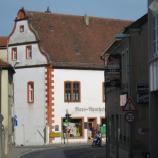 Außenansicht des Lehmann-Hauses in Rimpar, Foto: Rebekka Denz