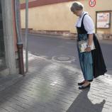 Rundgang auf den jüdischen Spuren in Rimpar unter kompetener Leitung von Frau Mintzel, Foto: Gabi Rudolf