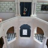 Blick von der Frauenempore der Synagoge Veitshöchheim, Foto: Rebekka Denz
