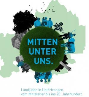 """Plakat der Wanderausstellung """"MITTEN UNTER UNS"""""""