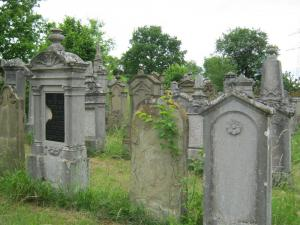 Jewish Cemetery in Allersheim, photo: Rebekka Denz